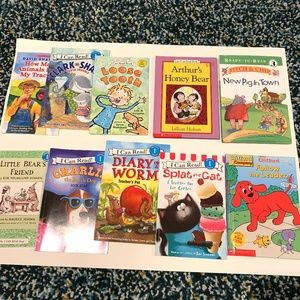 Other - I Can Read Bundle of 10 Preowned Paperback Books